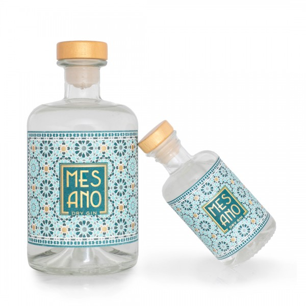 MESANO Dry Gin & Vermouth 10cl/50cl Flasche